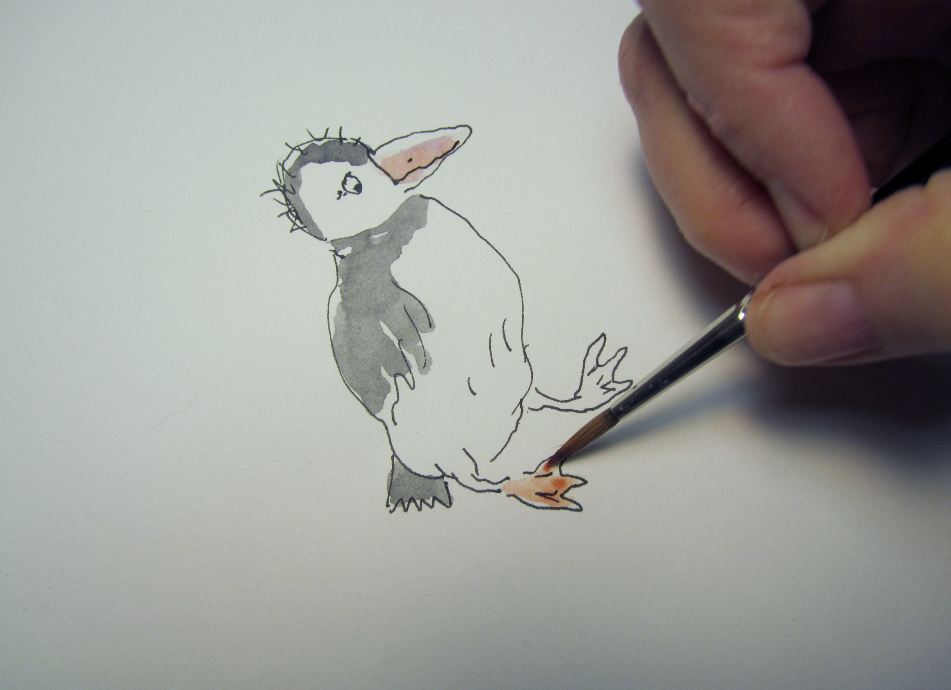 pufflings coloring pages - photo#12