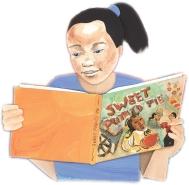 Girl Reading, from Destiny's Gift