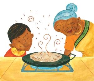 Hot, Hot Roti for Dada-Ji