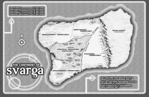 The continent Svarga