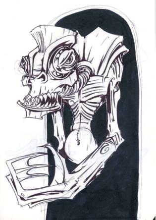 Zilombo sketch 2