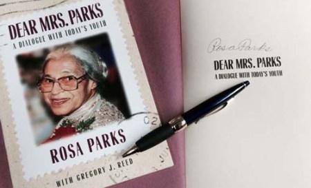 Rosa Parks Autographed Book