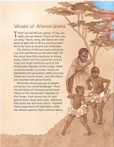 "Origins of African Dance"" excerpt from Drumbeat In Our Feet"