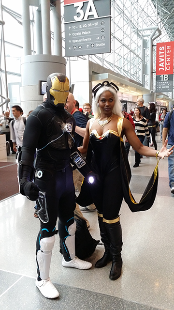iron man storm cosplay